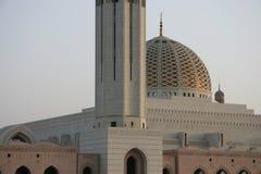 Mosk di Qaboos del sultano nell'Oman fotografia stock libera da diritti