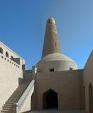 Mosk e sultano Emin del minareto. La Cina Fotografia Stock
