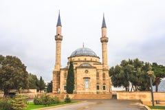Moské i Baku Arkivfoto