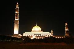 Mosk in moscato, sultanato dell'Oman fotografie stock libere da diritti