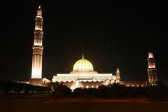 Mosk in Muscat, Sultanate of Oman Royalty Free Stock Photos