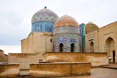 moské samarkand Arkivbilder