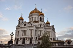 Moskaow church Stock Photography