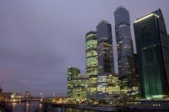 Moskau-Abend Lizenzfreie Stockfotografie