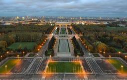 Moskau-Ansicht Stockfotos