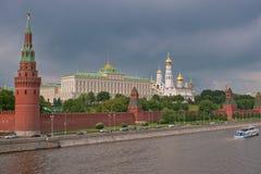 moskau Ansicht des Kremlin Stockfoto