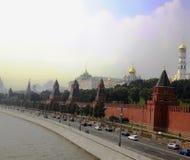 Moskau, Ansicht des Kremls Stockbild
