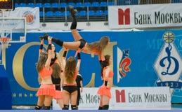 Cheerleader des Dynamit Lizenzfreie Stockfotos