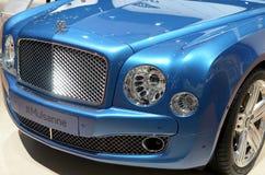 MOSKAU - 29 08 2014 - Automobil-Ausstellung Lizenzfreies Stockfoto