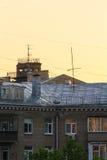 Moskau-Dach Stockbild