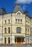 Moskau, das Gebäude in der pseudo-russischen Art lizenzfreies stockfoto