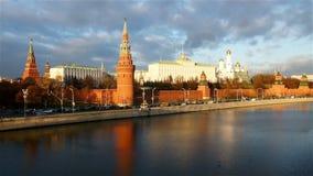 Moskau der Kreml stock video footage