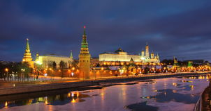 Moskau der Kreml Stockfotografie