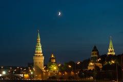 Moskau der Kreml Stockbilder