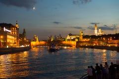 Moskau der Kreml Stockbild