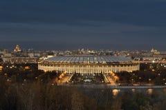 moskau Die großartige Sport-Arena Luzhniki Stockbild