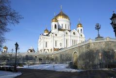 moskau Die Kirche von Christus Stockfotografie