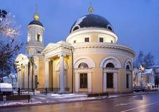 moskau Eine der Kirchen in Moskau Früh morgens Stockfoto
