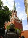 Moskau el Kremlin dentro Imagen de archivo libre de regalías