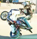 Moskau, Festival des extremen motosport Lizenzfreies Stockfoto