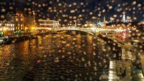 Moskau-Flussszene Stockbild