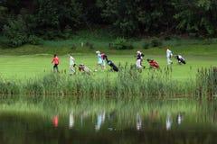 Moskau-Golfclub Stockfoto