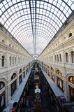 Moskau-GUMMI departmert Speicher Stockbild
