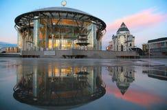 Moskau-Haus von Musik Stockbilder