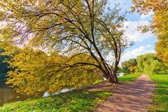 Moskau-Herbst lizenzfreies stockbild
