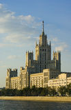 Moskau hoch Stockfotografie