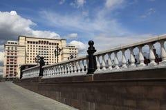Moskau. Hotel Moskva Stockbilder