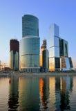 Moskau-internationales Geschäftszentrum lizenzfreie stockfotografie