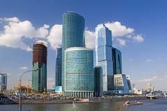 Moskau-internationales Geschäftszentrum stockbild
