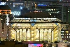 Moskau-internationales Haus von Musik stockbild