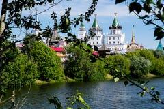Moskau, Izmailovo der Kreml Stockfotos