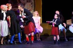 Rostova, Vorozhtsova, Yaremenko Spiel an den musikalischen Hexen Lizenzfreie Stockbilder