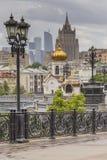 MOSKAU - 4. JUNI 2016: Moskau-Stadt (Moskau-International Busine stockbild