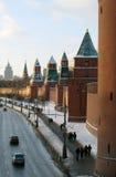 Moskau Kremlin stockfoto