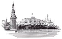 Moskau Kremlin Stockfotografie