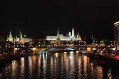 Moskau Kremlin stockbild