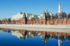 Moskau Kremlin Lizenzfreies Stockfoto