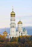 Moskau Kremlin an der Dämmerung Lizenzfreies Stockbild