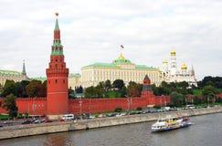 Moskau Kremlin Der große der Kreml-Palast Moskau der Kreml ist eine UNESCO-Welterbestätte lizenzfreie stockbilder