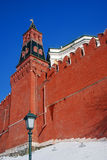 Moskau Kremlin Farbfoto Stockbilder