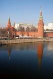 Moskau Kremlin Farbfoto Lizenzfreie Stockfotografie