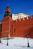 Moskau Kremlin Farbfoto Stockfotos