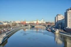 Moskau Kremlin, Russland Stockfotos