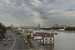 Moskau-Leben Lizenzfreie Stockfotografie
