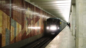 Moskau-Metro stock video footage