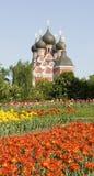 Moskau, orthodoxe Kirche Stockbilder